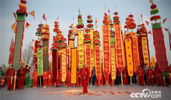 香河中幡,太壮观了