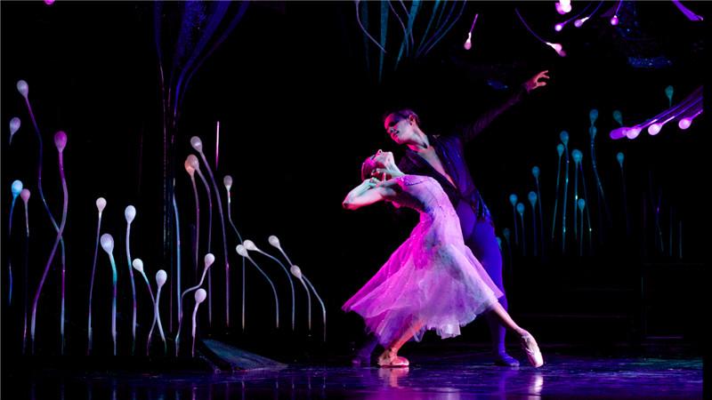 新颖华丽的服装、色彩缤纷的布景,主创团队将舞台打造成一片如梦似幻的仲夏夜森林