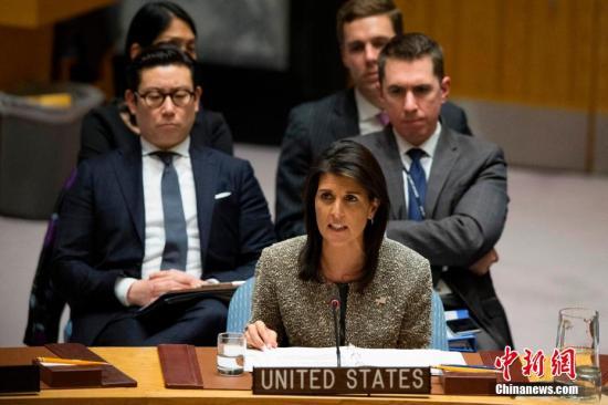 特朗普表示将在本周末之前提名新任驻联合国代表