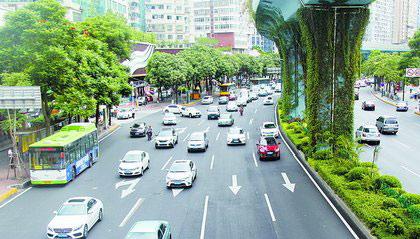 提升后的厦禾路景观更养眼,行车更舒适。