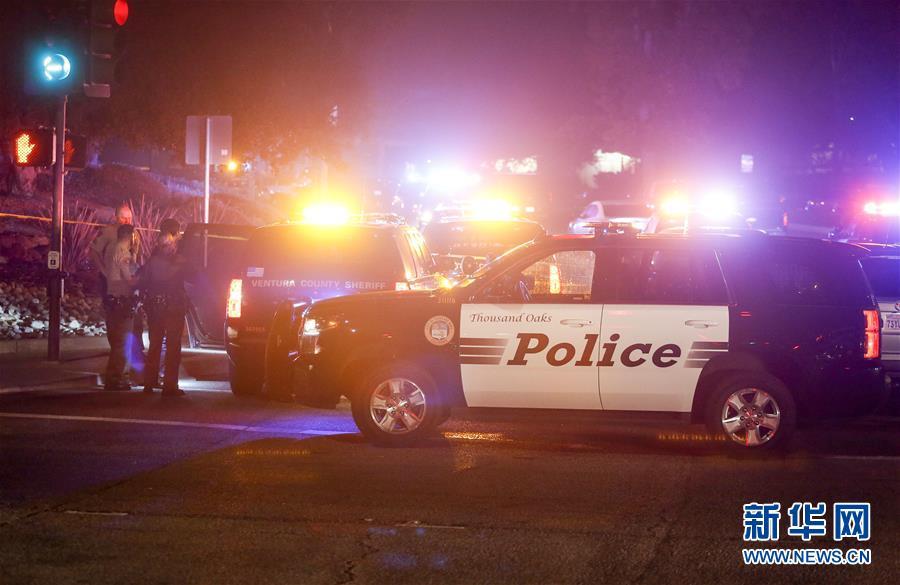 美国加州一酒吧发生枪击事件 至少13死