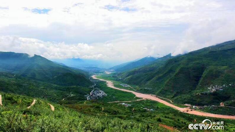 汉源全景图