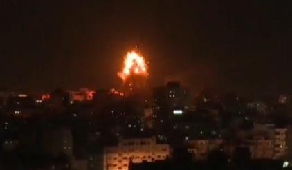 巴以地区 以色列与哈马斯冲突进一步升级