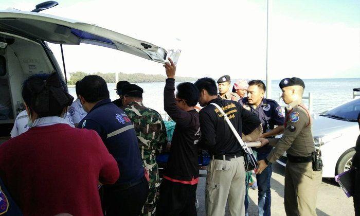 中��游客在泰��被大浪卷走溺亡 消失在妻子眼前