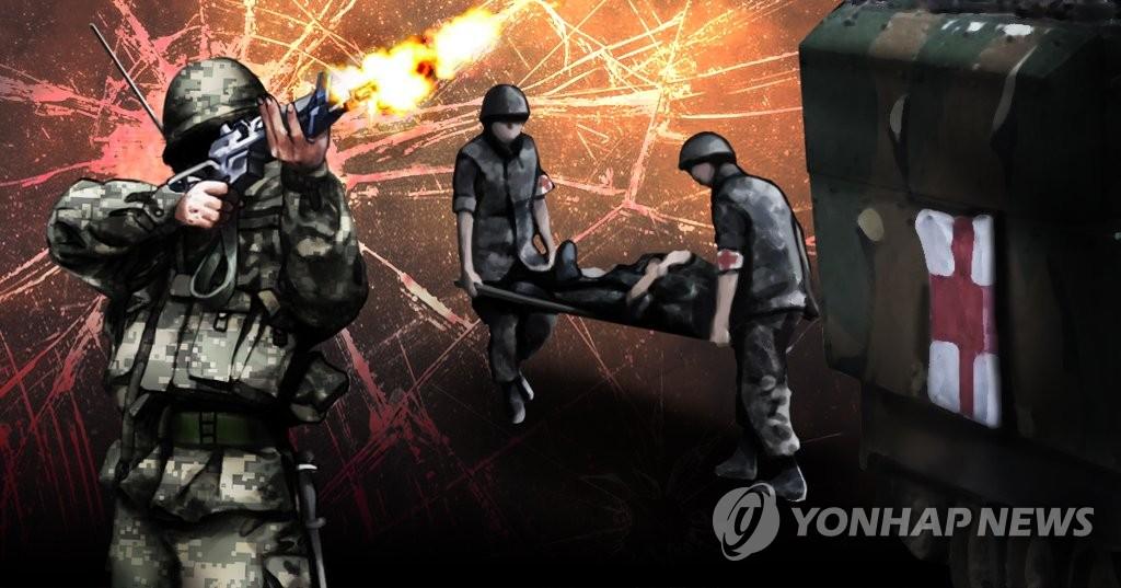 韩国前线哨所一士兵头部中枪?#21171;?事故原因尚不明