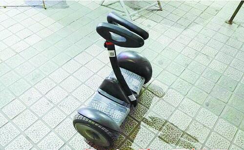 电动平衡车存在安全隐患。
