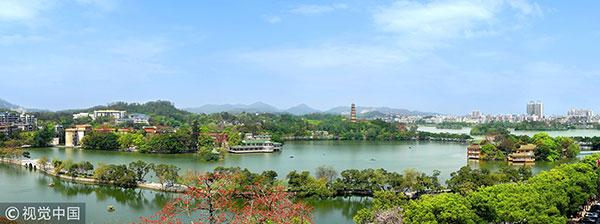 广东,惠州西湖