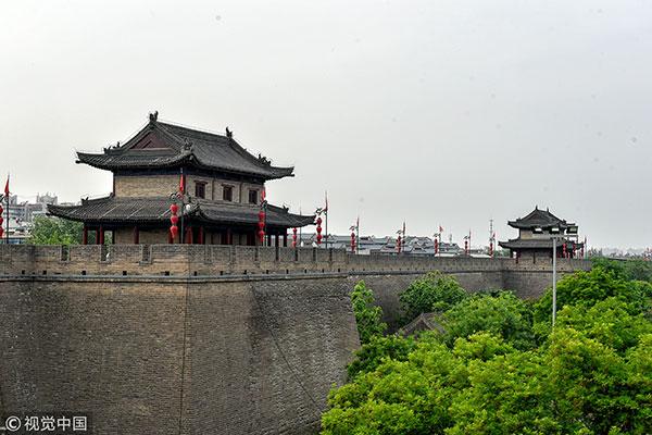 陕西西安 明城墙