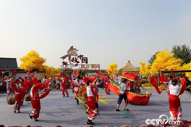 泰兴民俗庆祝大丰收!