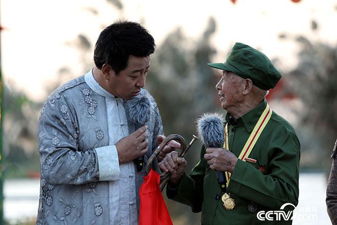 老兵陈乔:一把军号,吓跑敌人一个营。