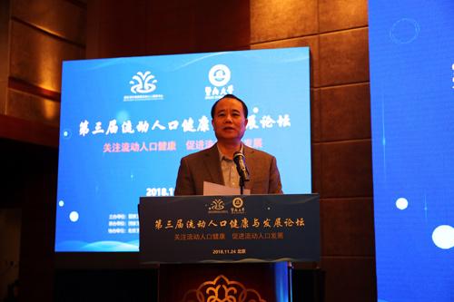 全国政协人口资源环境委员会副主任,中国计划生育协会党组书记、常务副会长王培安