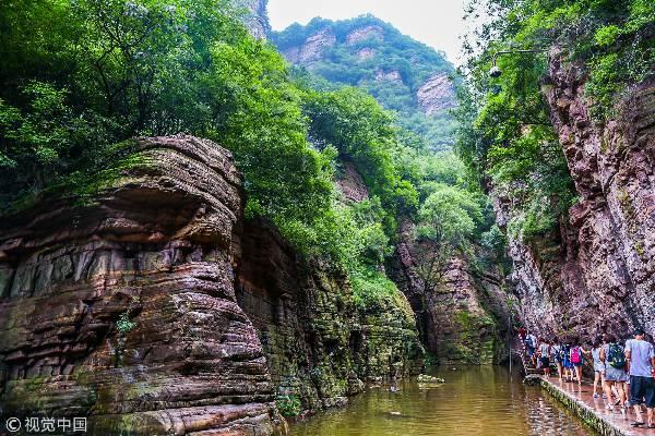 河南洛阳龙潭大峡谷景区