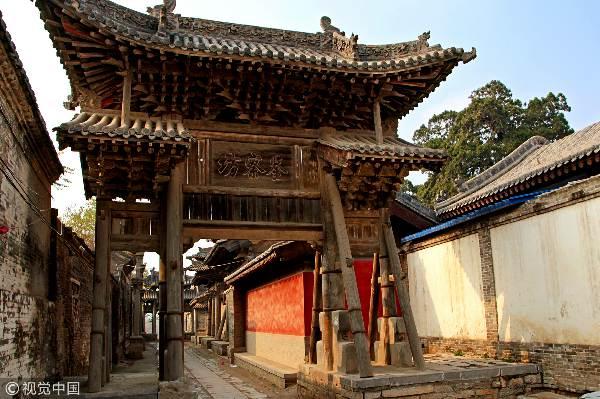 山西省襄汾县,冬日里的汾城城隍庙愈发显得古朴肃静