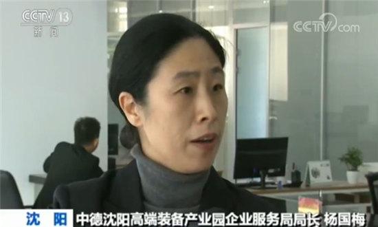 中德沈阳高端装备产业园企业服务局局长杨国梅