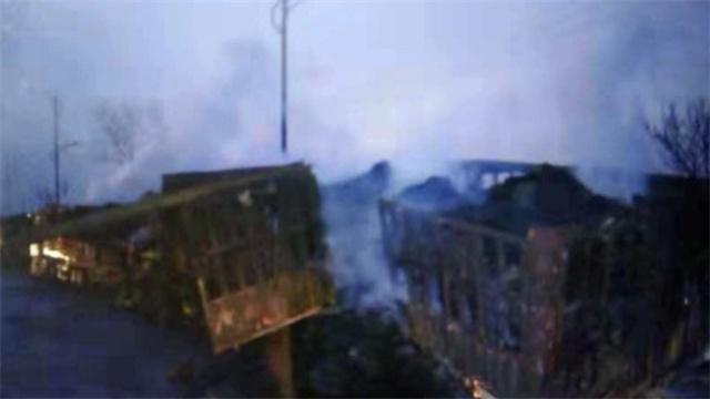 河北一化工厂附近发生爆炸事故伤亡惨重