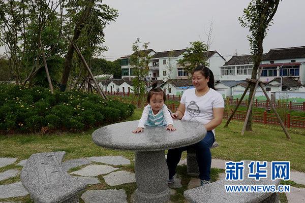 上海闵行永联村村貌一瞥(10月9日摄)。新华社记者 张建松 摄