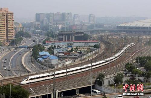 2019年1月中国铁路将实行新的列车运行图