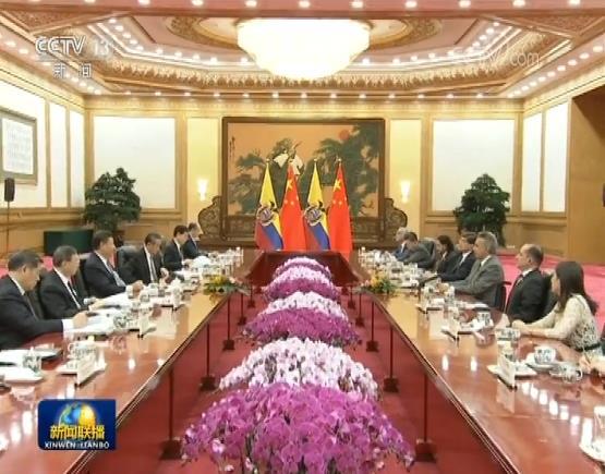 习近平举行仪式欢迎厄瓜多尔总统访华并同其举…