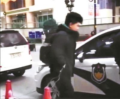 童虎被警方带走