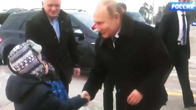 普京总统神秘直升机大曝光竟然是为了他?还亲