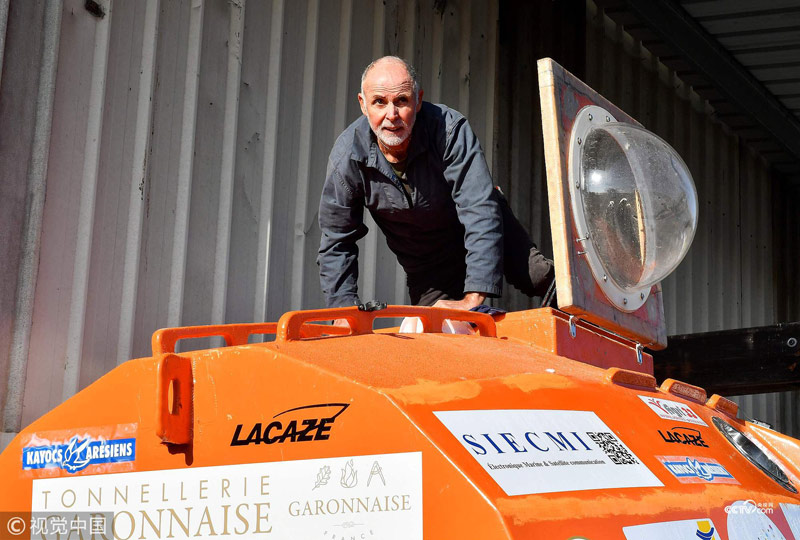 Frenchman Sets Sail For Caribbean In A Barrel