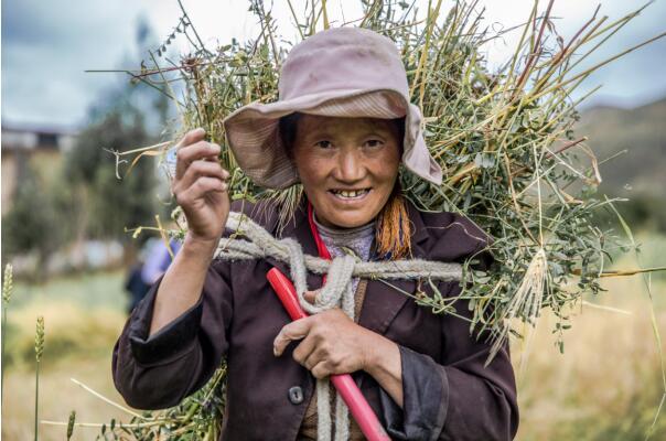西藏山南琼结县基层妇女杰出代表宗吉