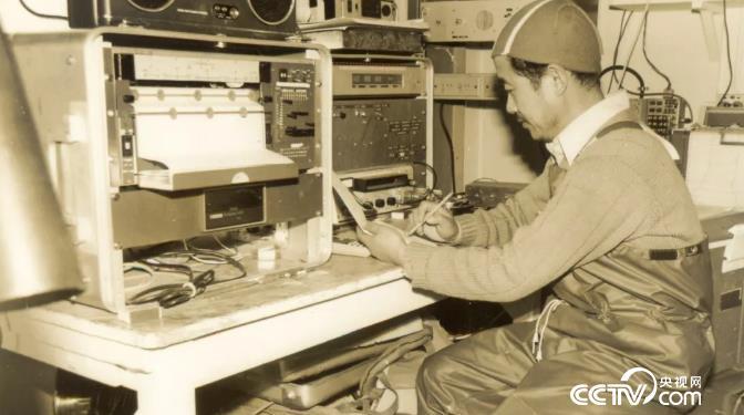 1980年12月董兆乾在内拉丹号海洋考查
