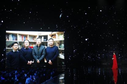 2019网络春晚录制现场