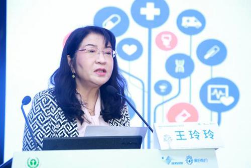 中国健康促进与教育协会副秘书长王玲玲