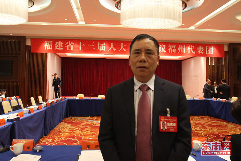 省人大代表刘用辉 东南网记者 张立庆 摄