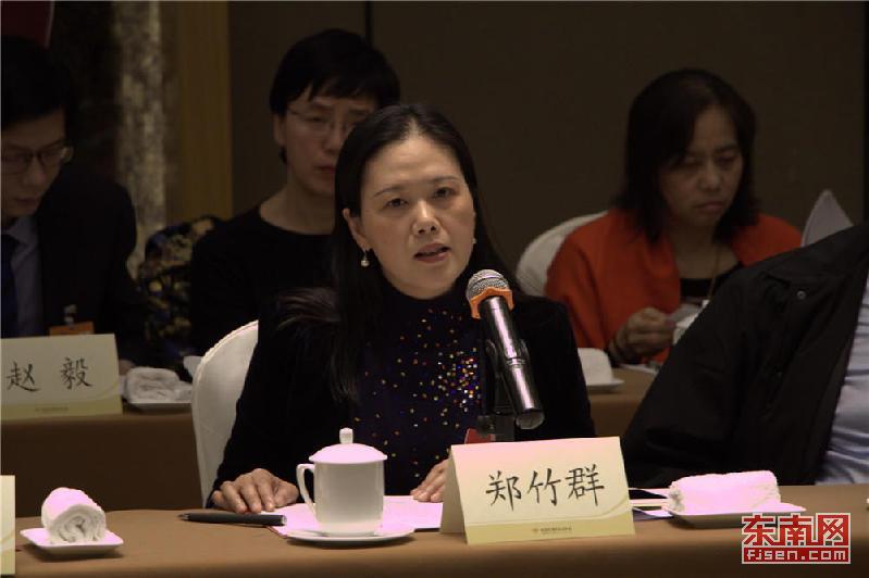 省政协委员郑竹群 东南网记者 张立庆 摄
