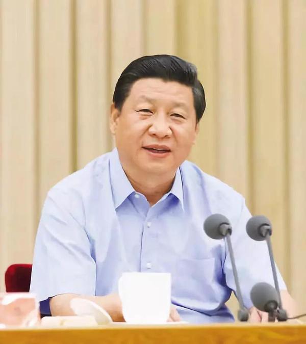 2013年8月19日,习近平在全国宣传思想工作会议上发表讲话。