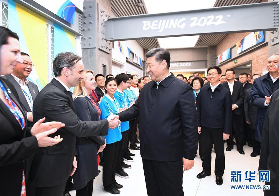 (时政)(9)习近平春节前夕在北京看望慰问基层干部群众