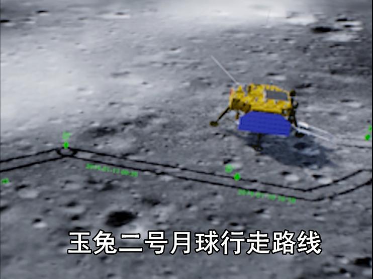 玉兔二号:来自月球的新春祝福!!!