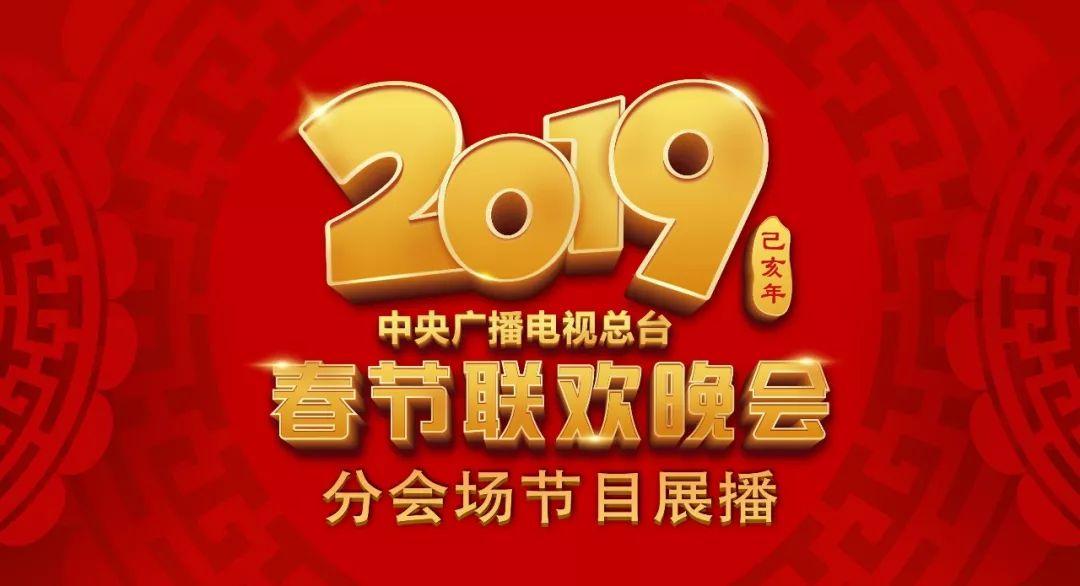 2019年春节联欢晚会 分会场节目展播,陪您过年