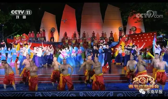泉州分会场节目还有泉州南音《千家罗绮管弦鸣》、高甲戏《高甲献艺》、越剧《妈祖》、《古艺新声中国梦》等四个节目。