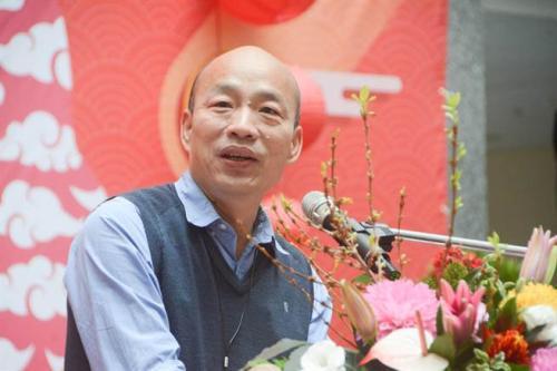 """""""韩流""""效应,带动国民党的整体满意度大幅提升。(图:台湾《中时电子报》/林宏聪 摄)"""