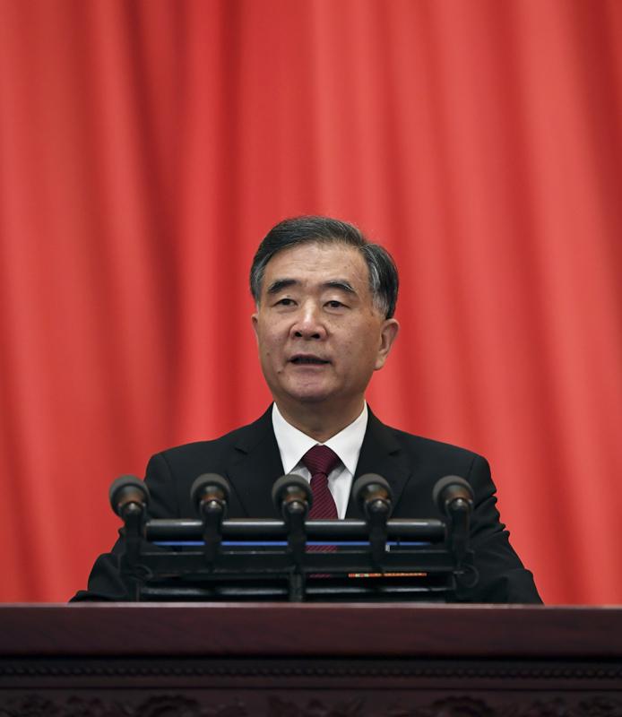 3月3日,中國人民政治協商會議第十三屆全國委員會第二次會議在北京人民大會堂開幕。汪洋代表政協第十三屆全國委員會常務委員會,向大會報告工作。