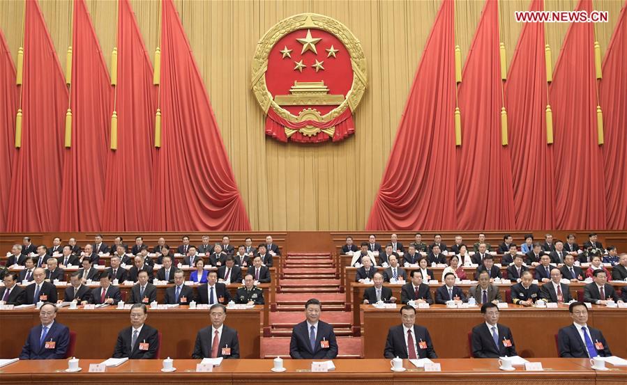 افتتحت الدورة الثانية للمجلس الوطني الـ13 لنواب الشعب الصيني، الهيئة التشريعية الوطنية للبلاد، صباح اليوم الثلاثاء في قاعة الشعب الكبرى ببكين