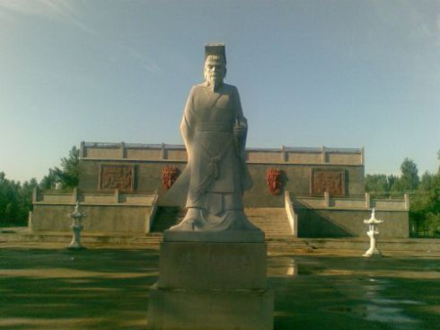 燕昭王塑像