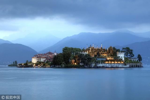 意大利,马焦雷湖贝拉岛