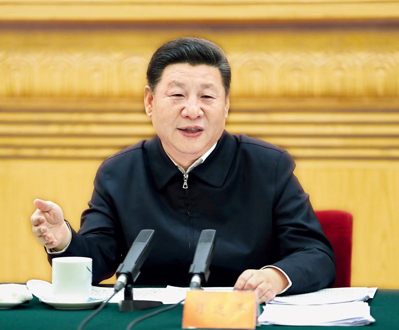2017年2月17日,中共中央总书记、国家主席、中央军委主席、中央国家安全委员会主席习近平在北京主持召开国家安全工作座谈会并发表重要讲话。