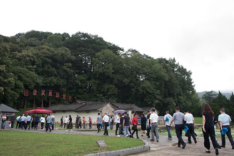 古田会议旧址外景