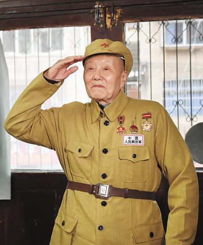共和国勋章获得者张富清——紧跟党走做党的好战士