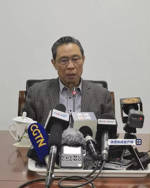 国家卫健委高级别专家组组长钟南山院士