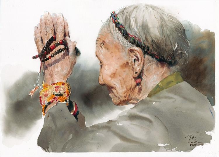 《祈禱》 蔣智南