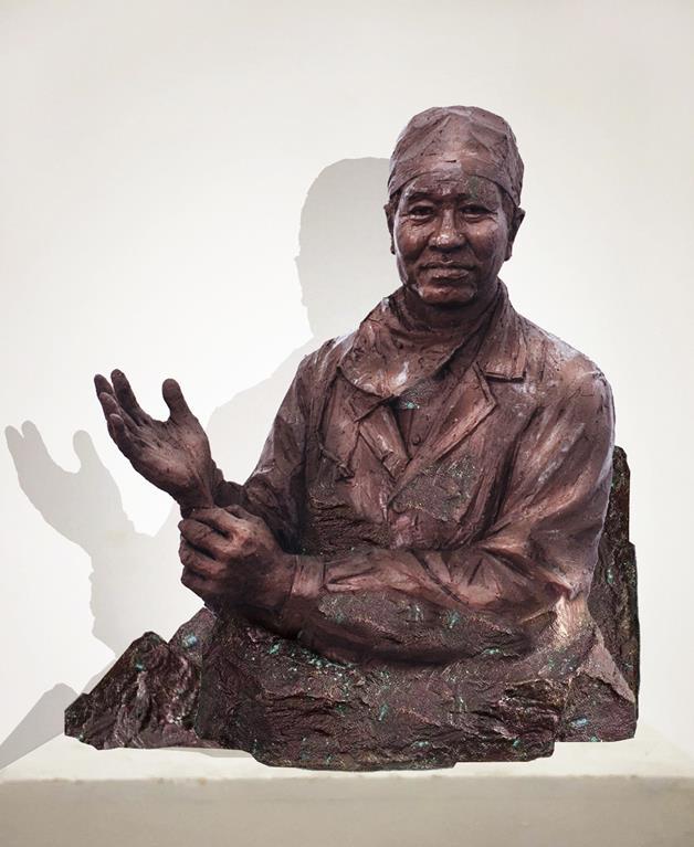 景育民 《天職》 雕塑 2020年