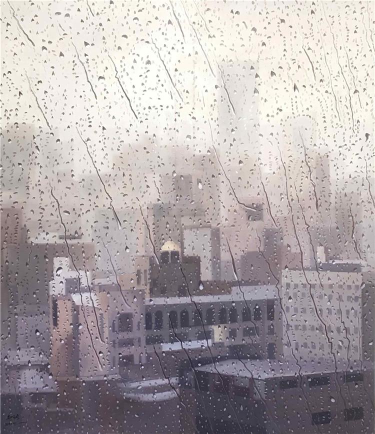《阳光总在风雨后》  郝元峰  油画