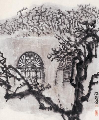 東方欲曉(中國畫) 1961年 石魯 中國美術館藏