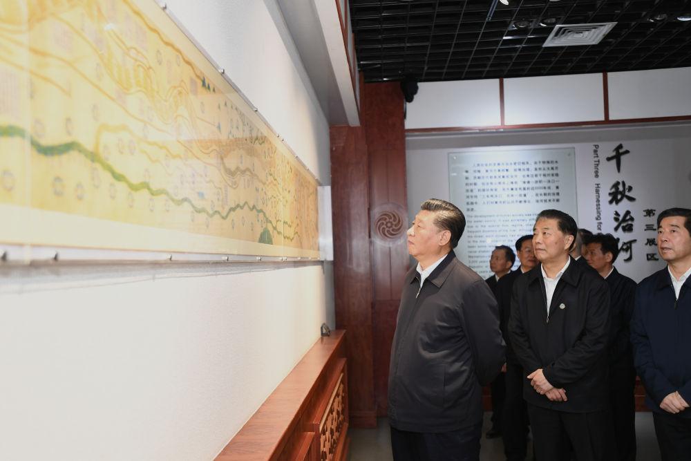 2019年9月17日,习近平在郑州考察。新华社记者 谢环驰 摄